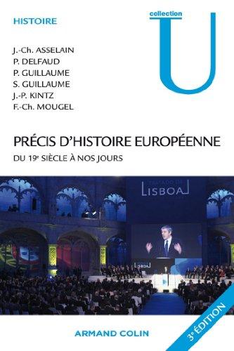 Précis d'histoire européenne : du 19e siècle à nos jours (Collection U)