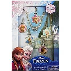 Disney Frozen - Set Pulseras y Colgantes (Kids Euroswan WD92094)