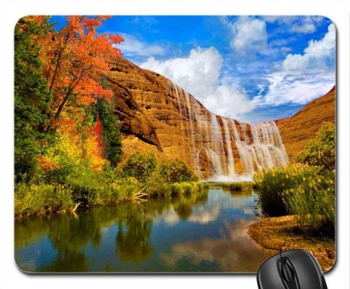 Rock cascades Mouse Pad, Mousepad (Waterfalls Mouse Pad) (Rock Cascade)
