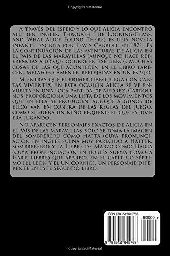 A traves del Espejo y lo que Alicia Encontro Alli (Spanish Edition)