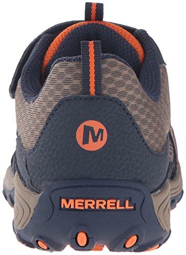 Merrell Jungen Trail Chaser Trekking-& Wanderhalbschuhe Blau (Navy/TaupeNavy/Taupe)