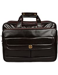 Sahil Leather Black Leather Office Bag For Men - B073Q4TZ3Q