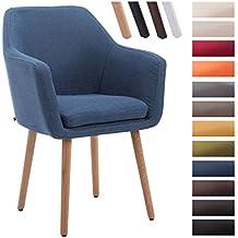 Amazon.es: sillas de comedor tapizadas en tela - 4 estrellas y más