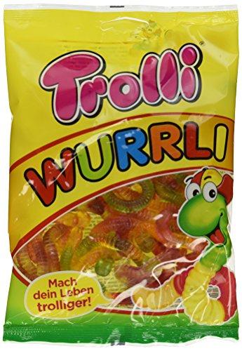 Preisvergleich Produktbild Trolli Wurrli mit Fruchtsaft,  18er Pack (18 x 200 g)