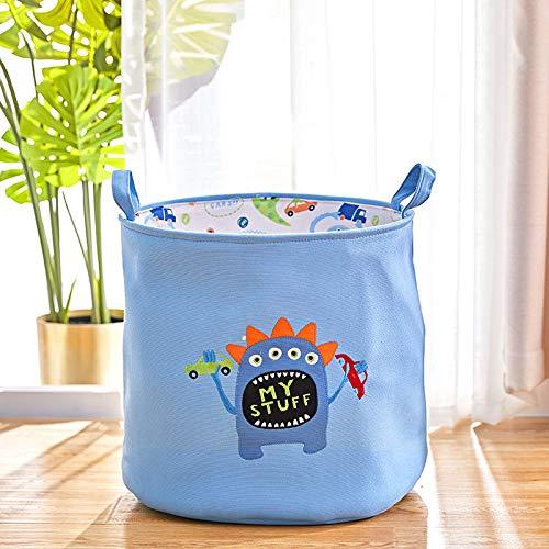 Große und niedliche wasserdichte Spielzeug Aufbewahrungskorb Spielzeug Veranstalter, Faltbare und tragbare Wäsche Aufbewahrungstasche für A2 45x35x43cm -