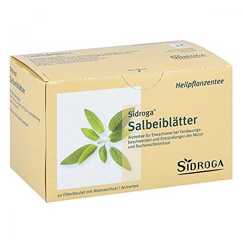 Sidroga - Infuso alle foglie di salvia Tè confezione da 20 filtri