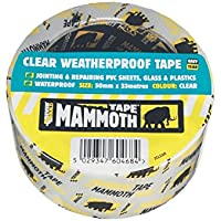 Everbuild EVB2CLEAR10 Clear Weatherproof Tape, 50 mm x 10 m