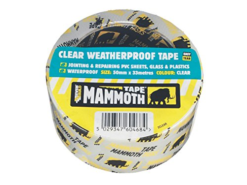 Everbuild EVB2CLEAR10 50 mm x 10 m Weatherproof Tape - Clear Test