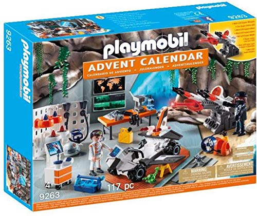 Playmobil 9263 - Calendario Avvento Top Agents