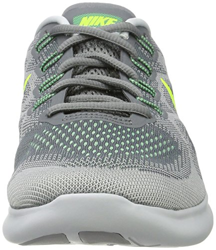 Nike Free RN 2017, Scarpe Running Uomo Multicolore (Cool Grey/volt-wolf Grey-ghost Green)