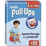 Huggies Pull-Ups 22 Couches Culottes d'apprentissage Garçons taille 6/L - Lot de 2