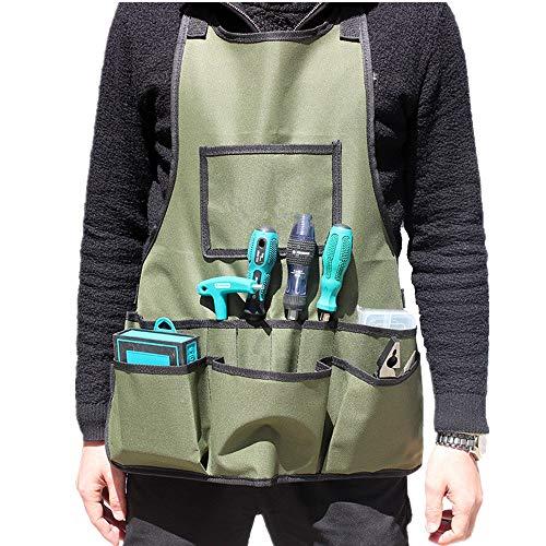 Melodycp Garden Garden Overalls Tasche Pet Supplies KitWork BAU Schürze Hardware Kit Große extra Starke Gartenabfallabfallsack -