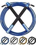 RDX Boxeo Cuerda Saltar Comba Acero Velocidad Rápida Entrenamiento Fitness
