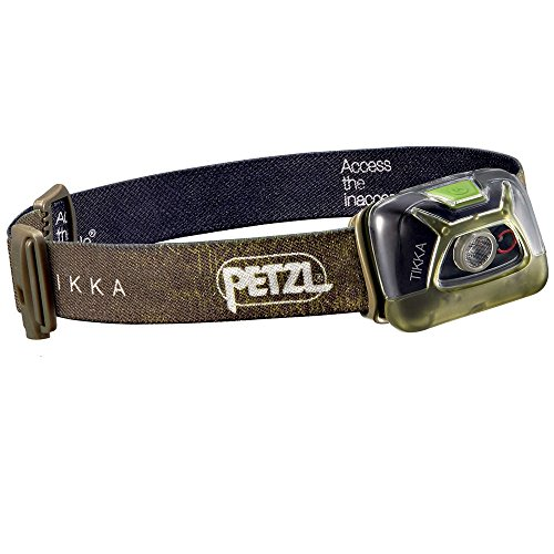 Petzl Tikka Linterna Frontal, Unisex Adulto, Verde, Talla Única