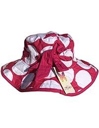 Idéal pour les enfants/filles-Chapeau-choix de motifs à pois avec noeud 5–12 ans