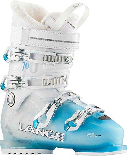 Lange sx 70w–scarponi da sci per donna, colore: blu/bianco, donna, sx 70 w, blu / bianco, 24