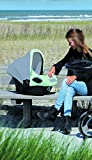 The Original Dooky 126380 Hoody Sonnenschutz Sonnenverdeck für Autositz Babyschale, Mint Grau