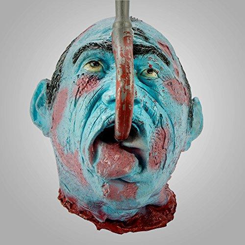 Halloween deko Gruselig Zombie Kopf Hängende Dekoration Zombiekopf (Stil (Zombie Uk Halloween Dekorationen)