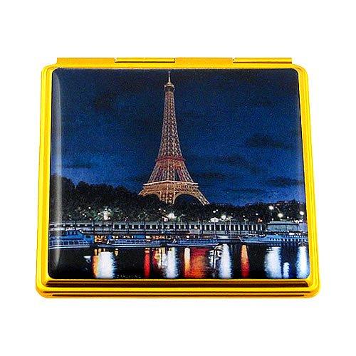 Souvenirs de France - Miroir Tour Eiffel la Nuit