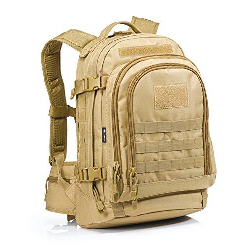 Imagen de yakeda® 600d  poliéster impermeable, impermeable  militar  táctica  a88051 color barro  alternativa