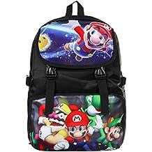Bonamana - Mochila escolar para niños, diseño de Super Mario ...