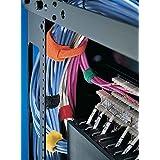 Hellermann Tyton 130-00004 presilla - sujección para cables (Azul)