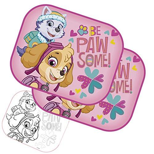 Preisvergleich Produktbild PAW PATROL PW11534 Autosonne schützen (2pcs) Plus zeichnen Mädchen, mehrfarbig