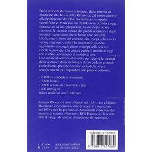 Dizionario delle scoperte scientifiche e delle inv