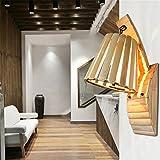 LED-Wandleuchte Südostasien-Balkonwandlampe, kreative Gartenbambus-Wandlampe 26CM * 22CM * 48.5CM