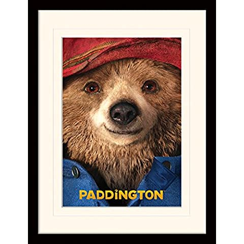 Paddington - Close Up Poster Da Collezione Incorniciato (40 x 30cm)