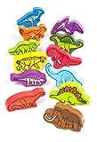 Hape E0910 - Dinosaurier, Holzspielzeug
