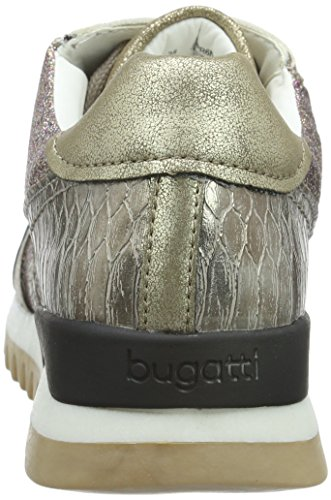 Bugatti J8203pr6n, Baskets Basse Donna Gold (rot Gold 814)