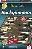 Schmidt Spiele 49230 Classic Line: Backgammon (gr. Spielfiguren)