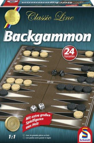 Schmidt 49230 Classic Backgammon