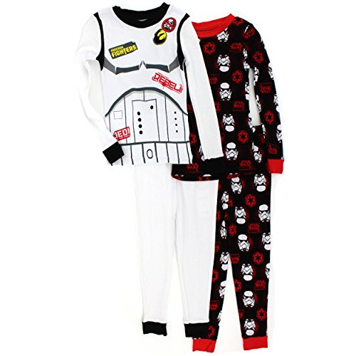 Star-Wars-nios-4-pc-algodn-pijama