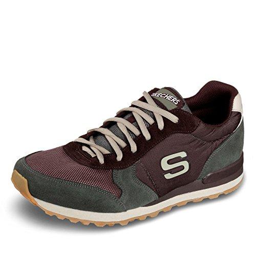 Skechers Sneaker Oliv Skechers Oliv braun Sneaker braun Skechers r86wqrxS