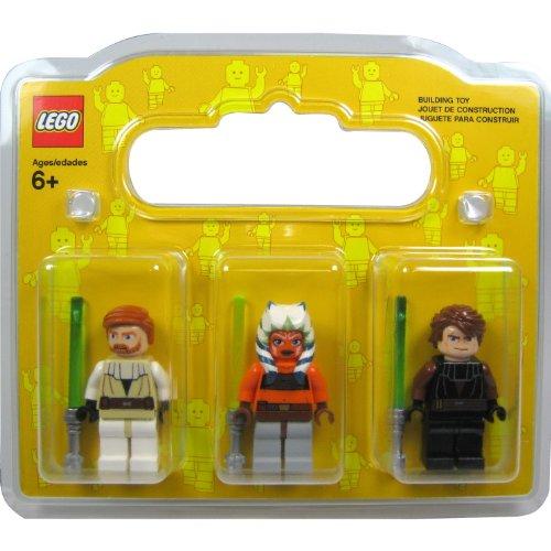 LEGO Star Wars Minifigurine Set dans un emballage cadeau: Ahsoka, Anakin Skywalker et Obi-Wan Kenobi (Clone Wars)