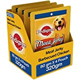 Pedigree Meat Jerky Stix Dog Treats, Barbeque Chicken, 80 G (Pack Of 4