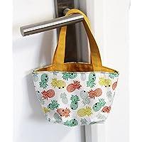 Sac cabas ananas enfant personnalisable - cadeaux personnalisés - cadeaux pour bébé- cadeaux pour enfant - cadeaux anniversaire
