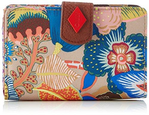 oilily-oilily-m-wallet-portemonnaies-femmes-multicolore-nougat-832-9x14x3-cm-b-x-h-x-t-eu