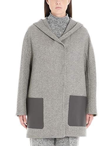 AGNONA Luxury Fashion Damen D7014H550OA049 Grau Mantel | Herbst Winter 19 11
