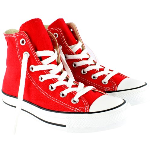 Converse As Hi Can Optic. WHT, Sneaker, Rot - Rot - Größe: 12 B(M) US Women/10 D(M) US - Größe Herren-high-top-schuhe, 12