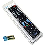 HQRP Télécommande universelle pour LG 32LF510B, 43LF5100, 49LF5100, 49LF590V Téléviseurs