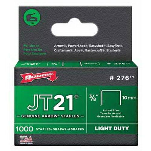 Arrow 160729 JT21 Boîte de 1000 Agrafes 10 mm
