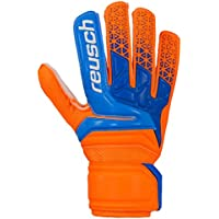 Reusch Guantes de portero para niños Prisma RG Easy Fit Junior, color blau/orange (953), tamaño 8