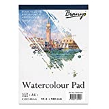 #7: Bianyo Watercolour Paper Pad, 180 GSM, A5 Size, 15 Sheets