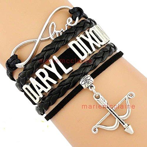 Daryl Dixon Walking Dead braccialetto armbrunst Pelle Bracciale Fanshop