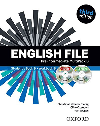 English File Third Edition: Pre-Intermediate Multipack B SB+WB Lessons 7-12