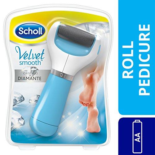 Scholl Velvet Smooth - Aparato de pedicura eléctrico, elimina las callosidades (versión alemana)