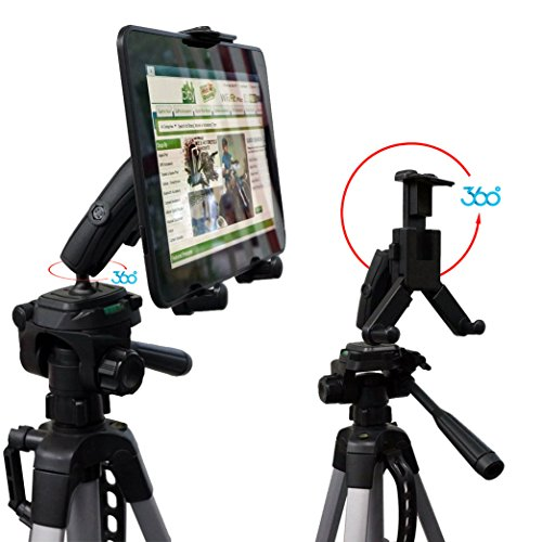 chargercity-hdx2-tablet-video-camera-recording-selfie-tripod-adapter-mount-w-dual-360-swivel-adjustm